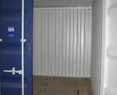 Lej en 10'er container hos containersalg.dk