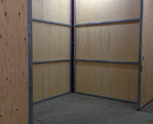 10 m2 lagerrum i sikkert, aflåst lagerhotel.
