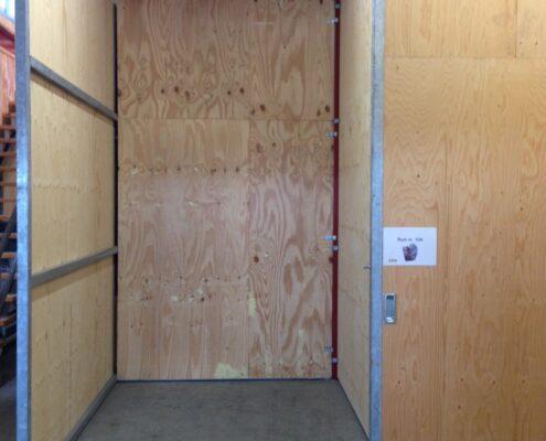 Mindre lagerlokale på omkring 6 m2 i Ølstykke