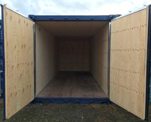 Lej en isoleret contianer ligesom denne hos containersalg.dk
