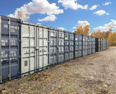 Du kan opbevare din egen container på vores plads i Ølstykke.
